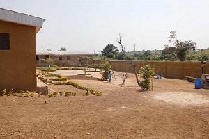 Die neuen Außenanlagen bieten prima Bedingungen für die Heimkinder