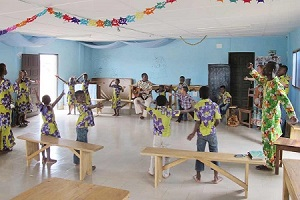 DIV Kinder Elfenbeinküste Aufenthaltsraum Kinderheim Gagnoa