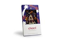 Die Weihnachts-Schokoladen-Tafel 'Knusperhaus' ist zu Advent und Heiligabend der Renner