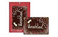 Mama ist die Größte und das ist diese Maxi Grußtafel aus handbeschriebener Manufaktur-Schokolade mit Wunschtext nach freier Wahl auch