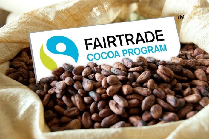 Fairtrade Kakao Logo Mood