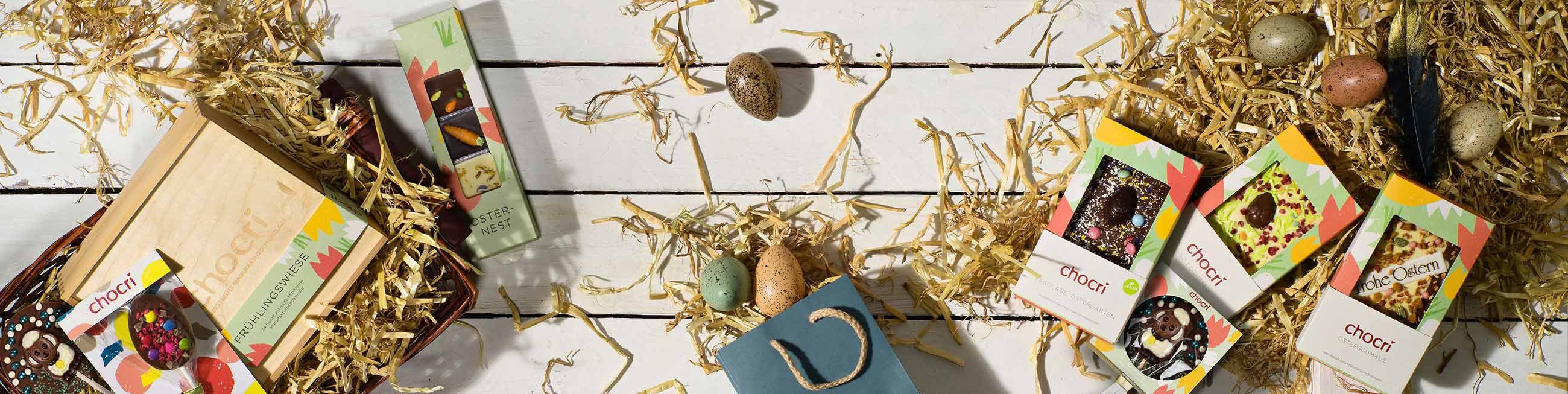 chocri Osterschokolade zum Osterfest