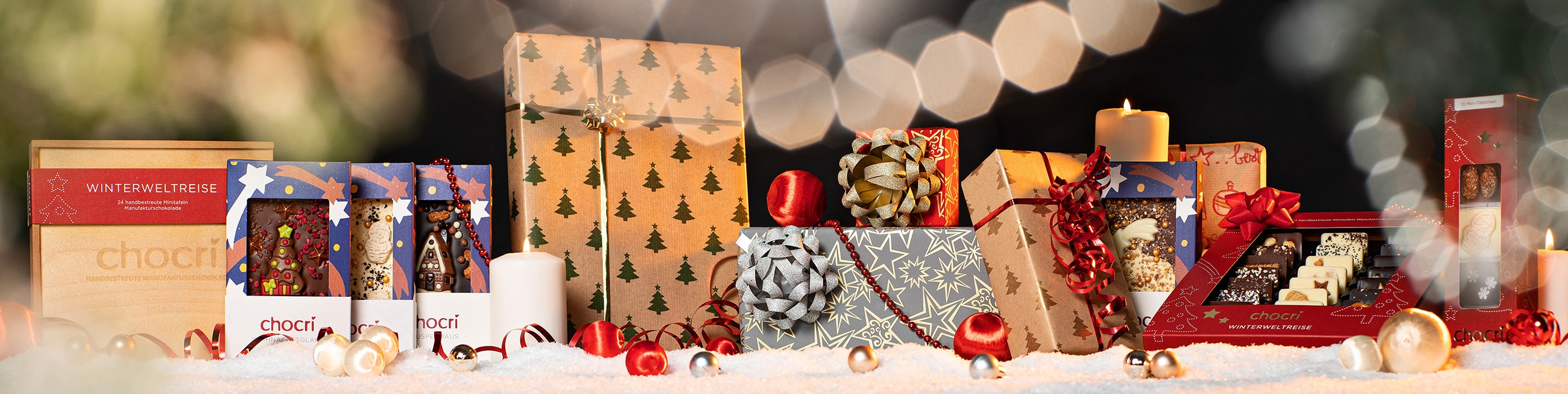 chocri Schokoladige Geschenke zu Weihnachten fuer die ganze Familie