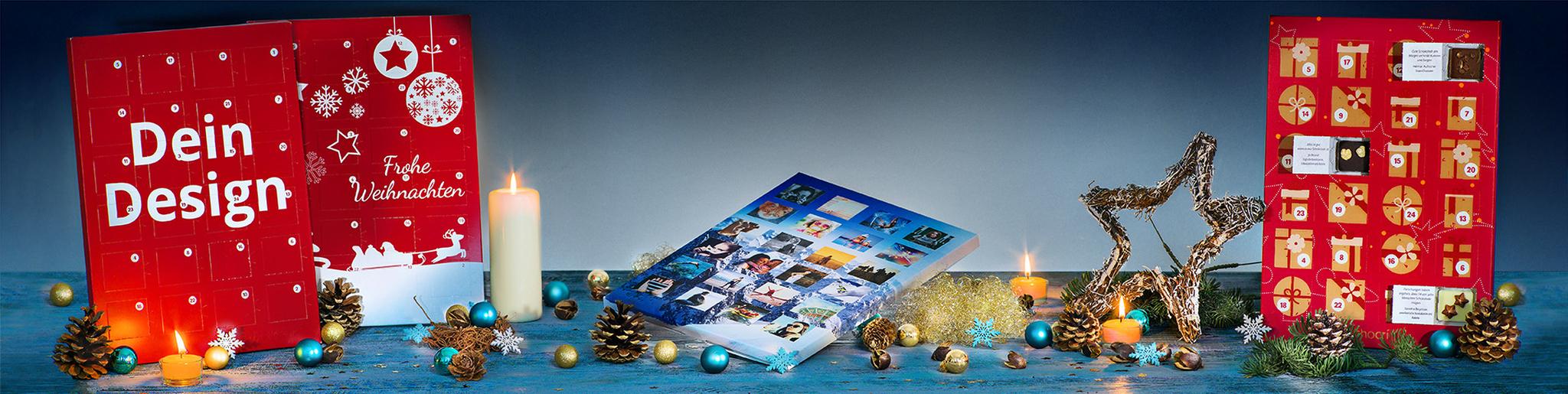 Der individuelle Foto-Adventskalender ist wieder da!