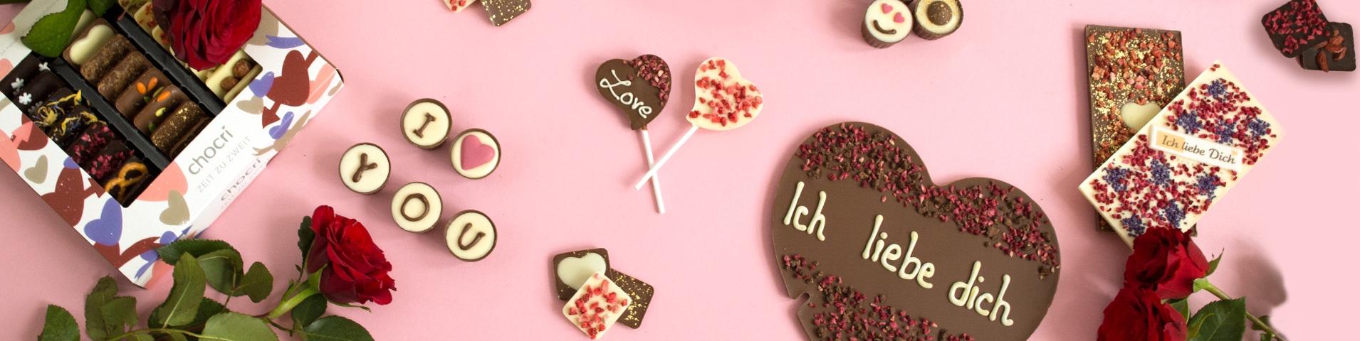 Schokolade Und Pralinen Zum Valentinstag Von Chocri