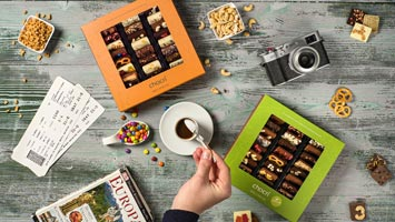 Geschenke aus Schokolade von chocri zum Valentinstag